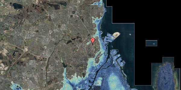 Stomflod og havvand på Vermundsgade 38E, 3. th, 2100 København Ø