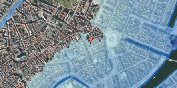 Stomflod og havvand på Østergade 26B, 4. , 1100 København K