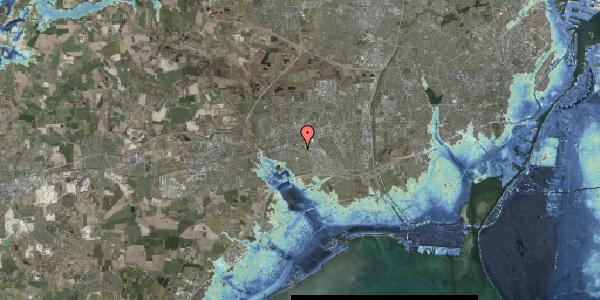 Stomflod og havvand på Hvidkløvervænget 18, 2625 Vallensbæk