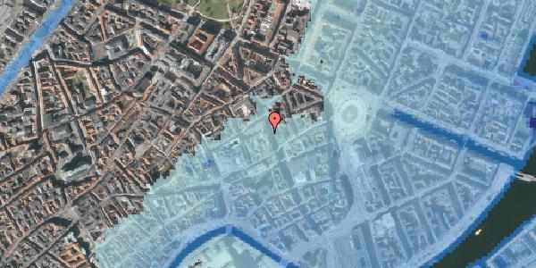 Stomflod og havvand på Kristen Bernikows Gade 9, 1105 København K