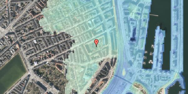Stomflod og havvand på Arendalsgade 6E, 2100 København Ø