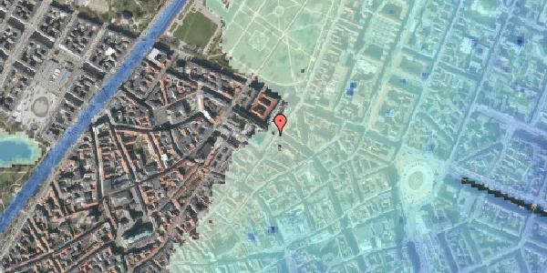 Stomflod og havvand på Møntergade 5, 4. , 1116 København K