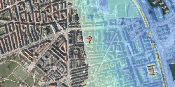 Stomflod og havvand på Vordingborggade 15, 2100 København Ø