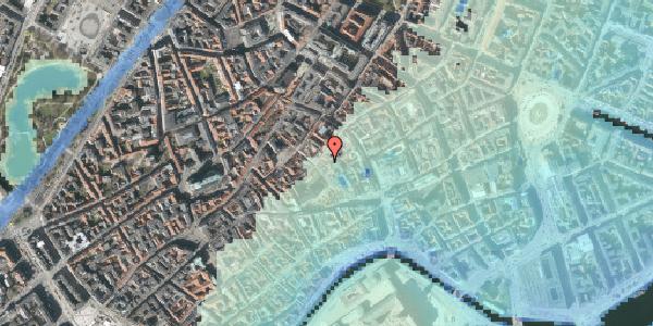 Stomflod og havvand på Niels Hemmingsens Gade 20B, kl. , 1153 København K