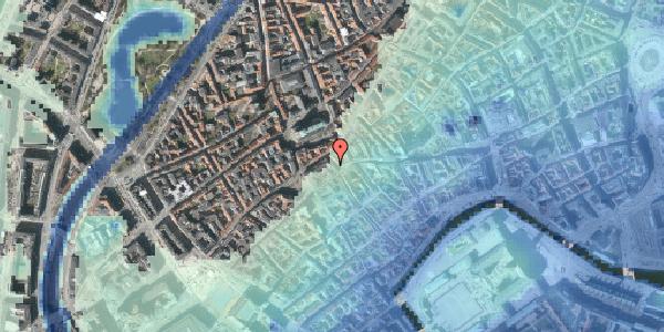 Stomflod og havvand på Skoubogade 3, 1158 København K