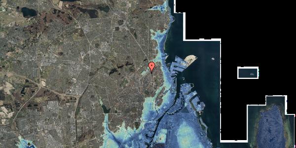 Stomflod og havvand på Emblasgade 45, st. , 2100 København Ø
