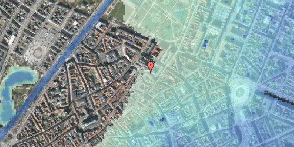 Stomflod og havvand på Pilestræde 59, 1112 København K