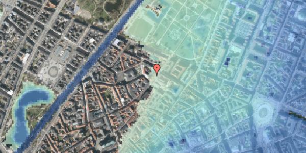 Stomflod og havvand på Landemærket 27A, 1119 København K