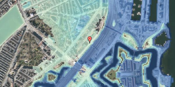 Stomflod og havvand på Trondhjems Plads 8, 2100 København Ø
