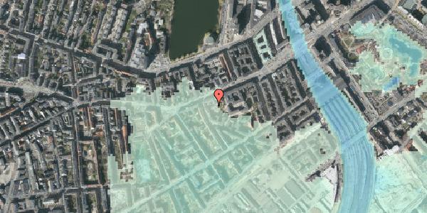Stomflod og havvand på Vesterbrogade 35A, 3. th, 1620 København V