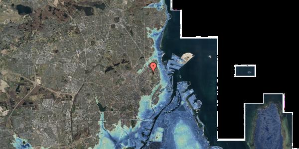 Stomflod og havvand på Jagtvej 169B, 4. tv, 2100 København Ø