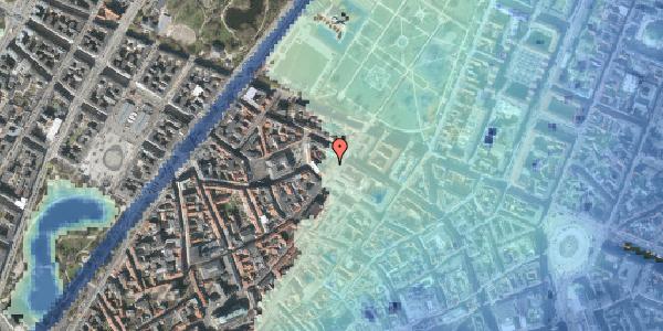 Stomflod og havvand på Landemærket 27B, 1119 København K