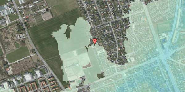 Stomflod og havvand på Hf. Dahlia 74, 2650 Hvidovre