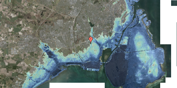 Stomflod og havvand på Hf. Svarø 115, 2650 Hvidovre