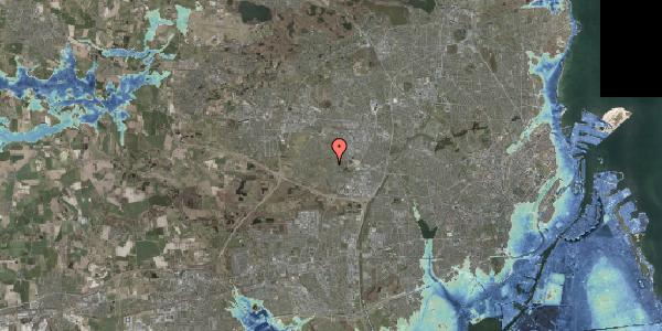 Stomflod og havvand på Vængedalen 814, 2600 Glostrup
