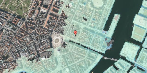 Stomflod og havvand på Nyhavn 11B, st. , 1051 København K