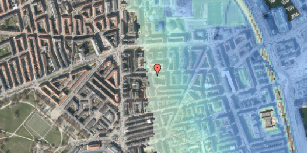Stomflod og havvand på Vordingborggade 18, 1. , 2100 København Ø