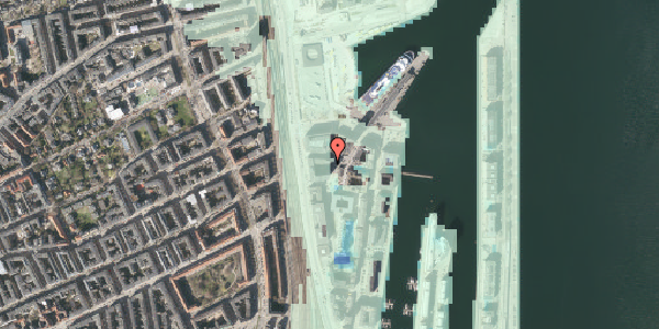 Stomflod og havvand på Amerika Plads 25C, 3. tv, 2100 København Ø