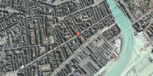 Stomflod og havvand på Istedgade 31, 1650 København V