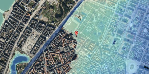 Stomflod og havvand på Gothersgade 105, 1. th, 1123 København K