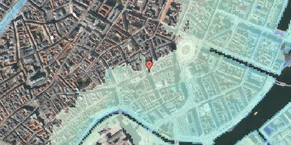Stomflod og havvand på Østergade 27, 5. , 1100 København K