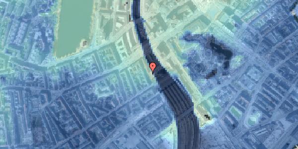 Stomflod og havvand på Reventlowsgade 1B, 1651 København V
