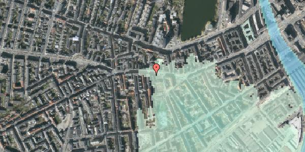 Stomflod og havvand på Vesterbrogade 59, 1620 København V