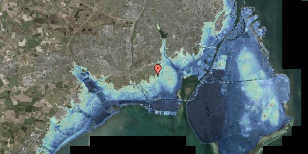Stomflod og havvand på Hf. Dahlia 52, 2650 Hvidovre