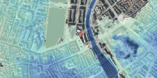 Stomflod og havvand på Ved Vesterport 9, 1. , 1612 København V