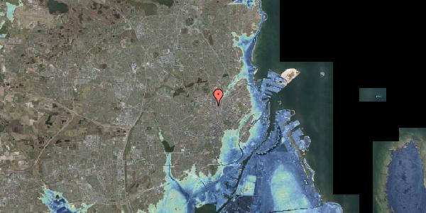 Stomflod og havvand på Frederiksborgvej 12, 2400 København NV