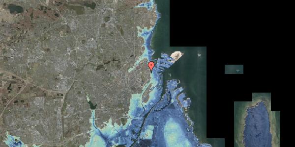 Stomflod og havvand på Serridslevvej 2C, kl. 4, 2100 København Ø