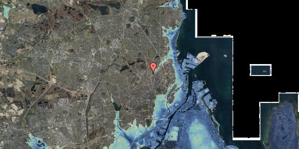 Stomflod og havvand på Bygmestervej 21C, 5. th, 2400 København NV