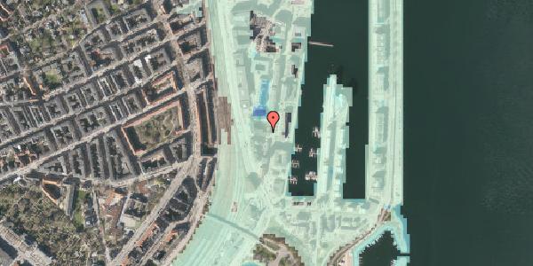 Stomflod og havvand på Amerika Plads 3D, 5. , 2100 København Ø