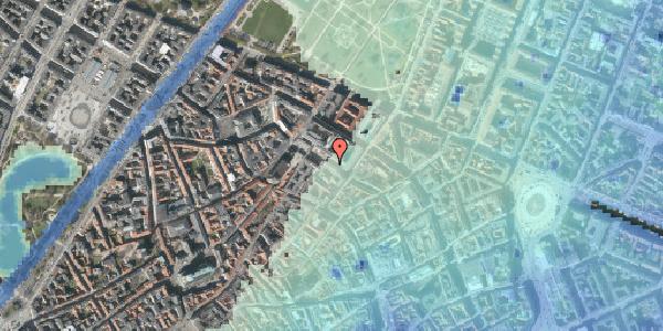 Stomflod og havvand på Pilestræde 55A, 2. , 1112 København K