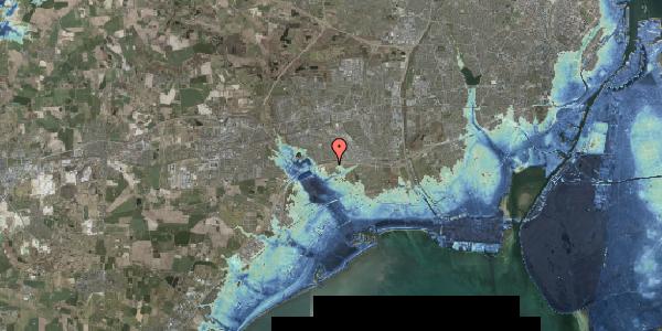 Stomflod og havvand på Kirkebakke Alle 24, 2625 Vallensbæk