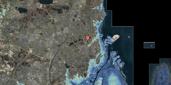 Stomflod og havvand på Peter Rørdams Vej 2A, 1. 7, 2400 København NV