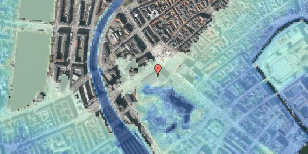 Stomflod og havvand på Vesterbrogade 1C, st. , 1620 København V
