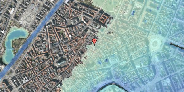 Stomflod og havvand på Løvstræde 2, 4. tv, 1152 København K