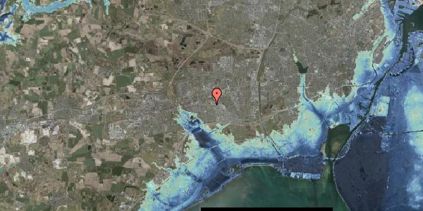 Stomflod og havvand på Firkløverparken 51, 2625 Vallensbæk