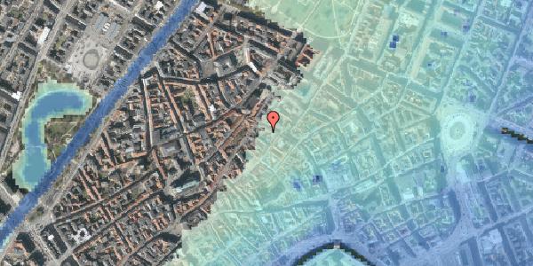 Stomflod og havvand på Løvstræde 4C, 1152 København K