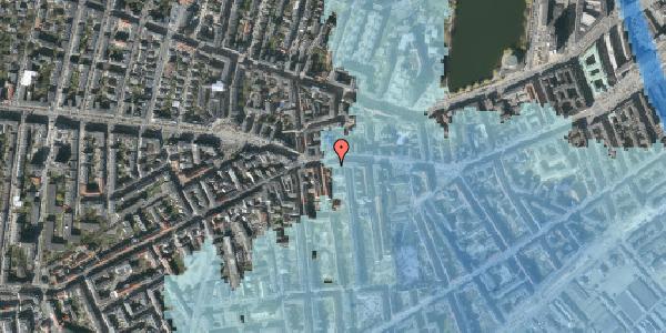 Stomflod og havvand på Vesterbrogade 71, st. tv, 1620 København V