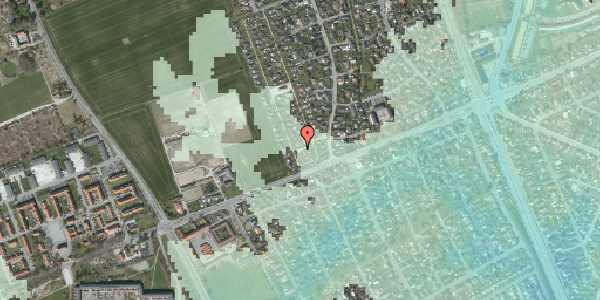 Stomflod og havvand på Hf. Dahlia 103, 2650 Hvidovre