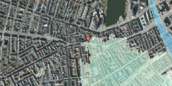 Stomflod og havvand på Vesterbrogade 66A, 2. , 1620 København V