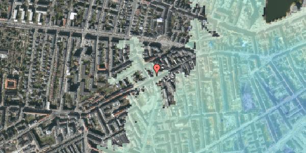 Stomflod og havvand på Vesterbrogade 106A, 1620 København V