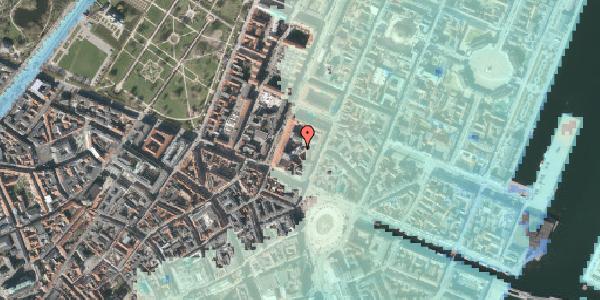 Stomflod og havvand på Gothersgade 8H, 1123 København K