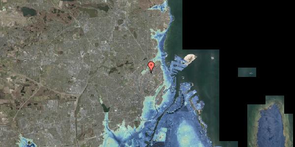 Stomflod og havvand på Emblasgade 97, 2100 København Ø