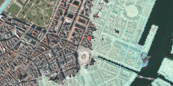 Stomflod og havvand på Kongens Nytorv 8B, 1050 København K