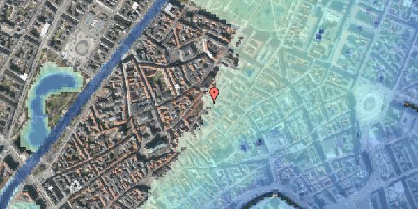 Stomflod og havvand på Skindergade 3, 1159 København K