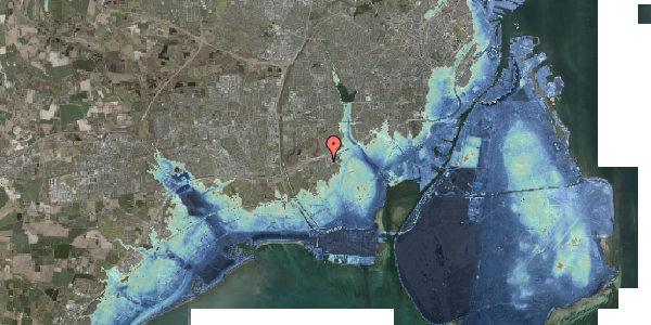 Stomflod og havvand på Hf. Kettehøj 119, 2650 Hvidovre