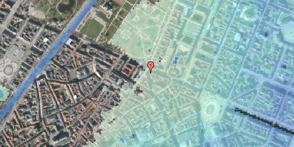 Stomflod og havvand på Gothersgade 47, 1123 København K